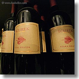 bottles, europe, hisa franko, red wine, scurek, slovenia, square format, wines, photograph