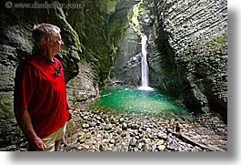 europe, horizontal, kozjak, men, slovenia, waterfalls, photograph