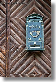 doors, europe, krupa, mailboxes, slovenia, vertical, photograph