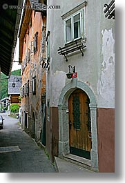 europe, krupa, narrow, slovenia, streets, vertical, photograph