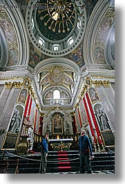 altar, churches, europe, ljubljana, religious, slovenia, vertical, photograph
