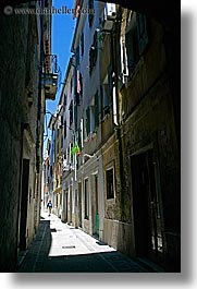 alleys, europe, narrow, narrow streets, pirano, slovenia, vertical, photograph
