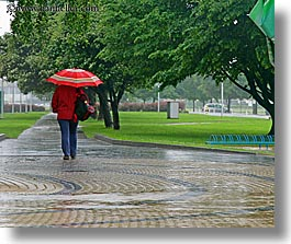 cobblestones, europe, horizontal, ptuj, rain, slovenia, umbrellas, walking, womens, photograph