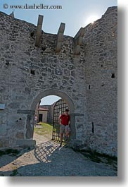 archways, churches, europe, gates, patricks, scenics, slovenia, vertical, photograph
