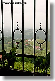 europe, gates, irons, slovenia, styria, vertical, vineyards, photograph