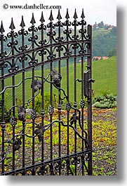 europe, gates, irons, slovenia, styria, vertical, photograph