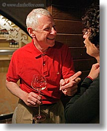 barry, barry goldberg, couples, europe, groups, laughing, men, slovenia, vertical, wine glass, wines, womens, photograph