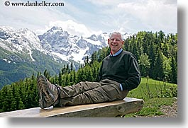 barry, barry goldberg, europe, groups, horizontal, laugh, men, mountains, scenics, slovenia, snowcaps, photograph