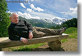 barry, barry goldberg, europe, groups, horizontal, men, mountains, scenics, slovenia, snowcaps, photograph