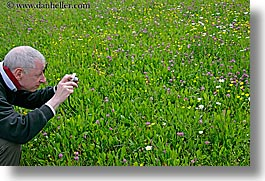 barry, barry goldberg, europe, flowers, groups, horizontal, men, photographers, photographing, slovenia, wildflowers, photograph