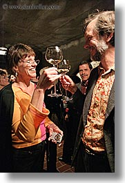 christie, couples, europe, groups, men, slovenia, stuart, toating, vertical, wine glass, wines, womens, photograph
