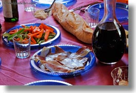 aiguestortes hike, europe, foods, horizontal, picnic, spain, wines, photograph
