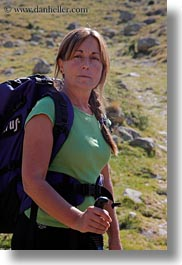 aiguestortes hike, europe, itziar, people, spain, tour guides, vertical, womens, zorilla, photograph
