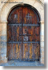 ansovell, archways, churches, doors, europe, spain, structures, vertical, photograph