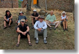 ansovell, emotions, europe, groups, happy, hikers, horizontal, people, picture, smiles, spain, photograph