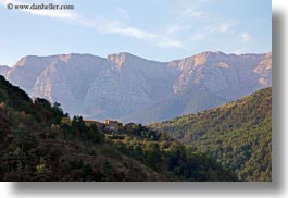 ansovell, europe, hillside, horizontal, houses, mountains, nature, spain, photograph