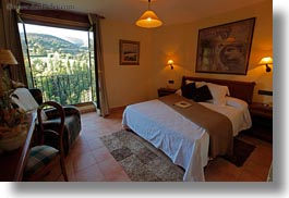 bedrooms, cal teixido, estamariu, europe, horizontal, hotels, spain, photograph