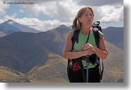 europe, horizontal, itziar, mountains, mt bisaurin, nature, people, spain, tour guides, womens, zorilla, photograph