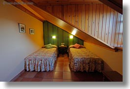 bedrooms, europe, horizontal, hotel villa de torla, hotels, spain, torla, photograph