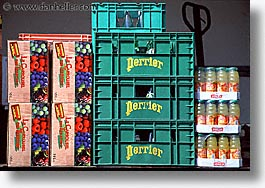 chamonix, crates, europe, horizontal, juice, switzerland, photograph