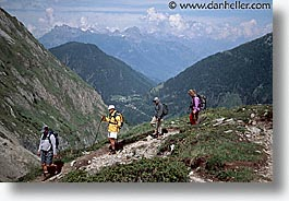 balme, europe, hike, hikers, horizontal, switzerland, photograph