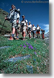 europe, hikers, switzerland, vertical, photograph