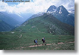 europe, hikers, horizontal, switzerland, photograph