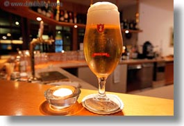 beers, europe, glasses, horizontal, kandersteg, switzerland, wald hotel doldenhorn, photograph