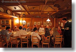 dining, europe, groups, horizontal, kandersteg, switzerland, wald hotel doldenhorn, photograph