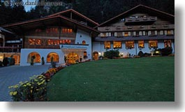 europe, facades, horizontal, hotels, kandersteg, switzerland, wald hotel doldenhorn, photograph