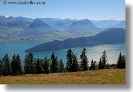 europe, horizontal, lake lucerne, lakes, lucerne, overlook, switzerland, photograph