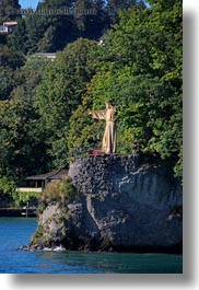 europe, jesus, lake lucerne, lucerne, rio, switzerland, vertical, photograph