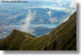 churches, europe, horizontal, lucerne, mountains, mt pilatus, switzerland, photograph