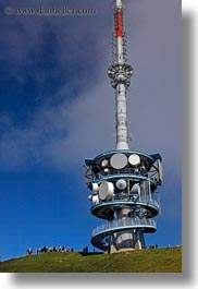 cellular, europe, lucerne, mt rigi, switzerland, towers, vertical, photograph