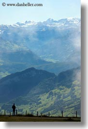 europe, hikers, hiking, landscapes, lucerne, mt rigi, people, switzerland, vertical, photograph