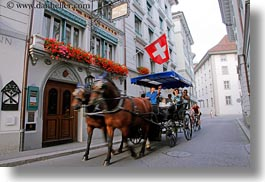 europe, facades, horizontal, hotels, lucerne, mann, switzerland, wilden, wilden mann hotel, photograph