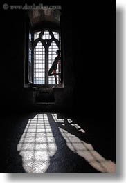chateau de chillon, europe, montreaux, people, silhouettes, switzerland, vertical, windows, photograph