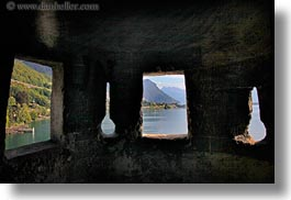 chateau de chillon, europe, from, horizontal, interiors, montreaux, switzerland, towers, views, photograph