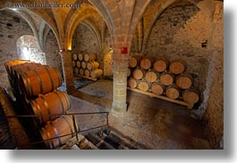 barrels, chateau de chillon, europe, horizontal, montreaux, switzerland, wines, photograph
