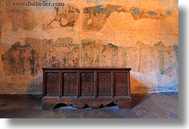 cabinet, chateau de chillon, europe, horizontal, montreaux, switzerland, woods, photograph