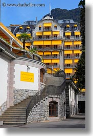 europe, hotels, montreaux, palais, petit, switzerland, vertical, photograph