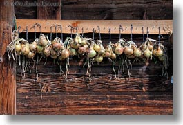 europe, hangings, horizontal, murren, onions, switzerland, photograph