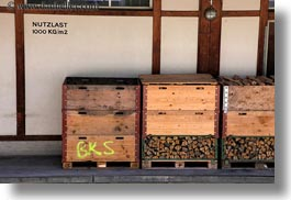 boxes, europe, horizontal, murren, nutzlast, switzerland, photograph