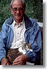 cats, europe, men, people, switzerland, vertical, photograph