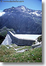 dam, dixence, europe, scenics, switzerland, vertical, photograph
