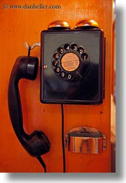 europe, meyers hotel, old, rotary, switzerland, telephones, vertical, wengen, photograph