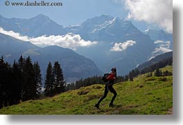 europe, hikers, hiking, horizontal, mountains, people, switzerland, vicky, womens, wt people, photograph