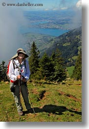 emotions, europe, happy, hikers, hiking, mednick, people, smiles, switzerland, vertical, wendy, womens, wt people, photograph