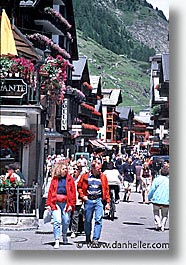 europe, switzerland, towns, vertical, zermatt, photograph