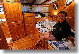 boats, cabins, cevri hasan, couples, europe, gulet, horizontal, men, schooner, slow exposure, turkeys, womens, photograph